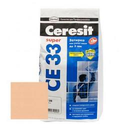 CERESIT CE33 Затирка для швов Карамель