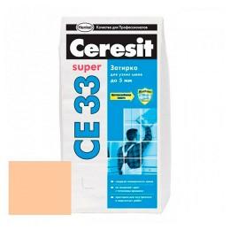 CERESIT CE33 Затирка для швов Персик
