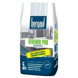 Клей плиточный усиленный Bergauf Keramik Pro 5 кг