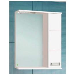 Шкаф зеркальный Флора 60 правый