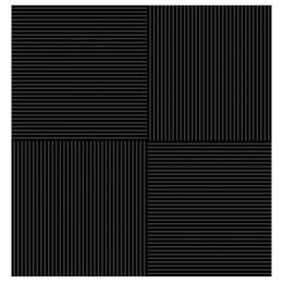 Плитка Фреш черная 38,5 х 38,5 напольная