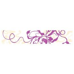 Бордюр Монро фиолетовый 40 х 7,5 см
