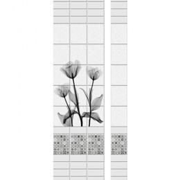 Панель ПВХ Новита Черный Тюльпан