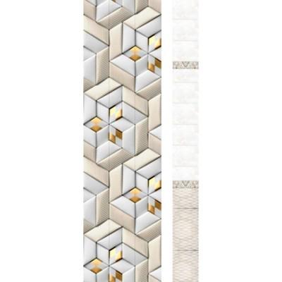 Панель ПВХ Новита Геометрия Gold SF